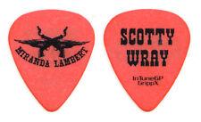 Miranda Lambert Scotty Wray Orange Guitar Pick - 2010 Roadside Bars Tour