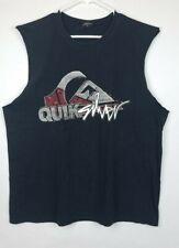 Quiksilver Men's Activewear Tank Sleeveless Athletic Logo Scoop Neck Size Xl