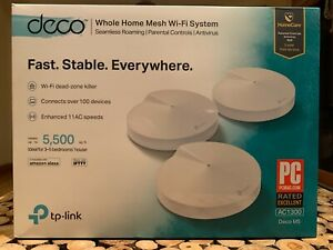 tp-link deco whole home mesh wifi system slightly used works fine
