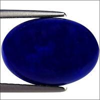 2.43 Ct Natural Ethiopian Blue Cabochon Opal Gemstone Blue Color Oval Cut