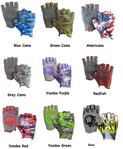 Fish Monkey Stubby Guide Glove - Choice of Colors and Sizes