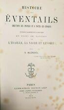 HISTOIRE DES EVENTAILS -S.BLONDEL-LIBRAIRIE RENOUARD PARIS 1875