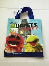Muppets Tote Bag London Big Ben Animal Kermit Frog Miss Piggy Fozzy Tesco New
