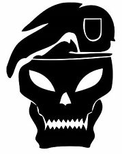 Skull Commando vinyl car Decal / Sticker