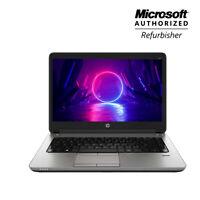 "A Grade HP ProBook 640 G1 14"" Intel i5 8GB RAM 500GB HDD Win10 WiFi Laptop DVDRW"