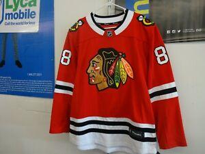 New Men's Chicago Blackhawks Patrick Kane#88 Fanatics Breakaway Red Jersey LARGE