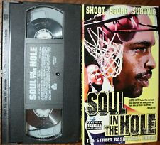 SOUL IN THE HOLE (vhs) Ed Smith, Kenny Jones. VG Cond. Rare. Street Basketball