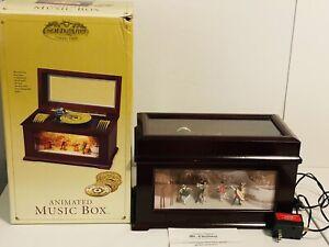 Mr Christmas Gold Label Animated Music Box with Turning Scene Ballroom 10 Discs