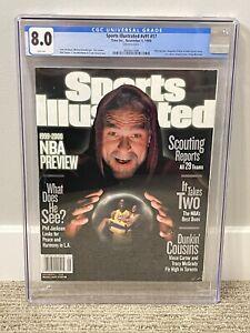 Kobe Bryant Sports Illustrated CGC 8.0 POP 1/1 none higher Newsstand