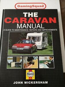 The Caravan Manual, John Wickersham HB Book, Supplied by Gaming Squad