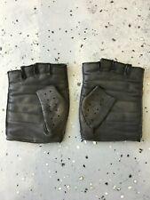 Harley Davidson Men's Fingerless Leather Gloves - 2XL