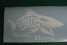 Shark Hunter, Deep sea Fishing graphic, decals, stickers.