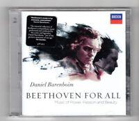 (HZ964) Daniel Barenboim, Beethoven For All - 2012 double CD