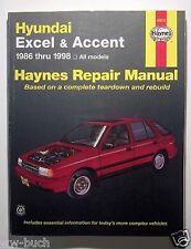 Hyundai Excel & Accent, 1986-1998, Haynes Repair Manual