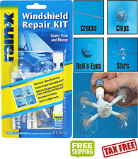 Auto Windshield Repair Kit Chips Crack Glass Resin Sealer Automotive Car Window