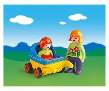 BNIB Playmobil 6749 1.2.3 MUMMY WITH PRAM Made in Malta