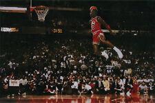 "Michael Jordan ""Dunk"" - Large Poster 24x36 Pop Culture Basketball Sports"