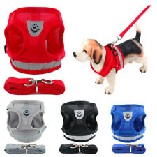 Small Pet Harness Dog Cat Soft Mesh Walk Collar Safety Strap Vest