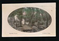 Australia AUSTRALIAN SCENERY Settlers Camp c1920/30s? PPC Marlborough Art