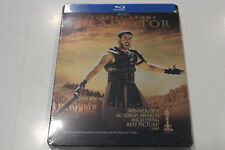 New - Gladiator - Russell Crowe - Steelbook Bluray - Region ABC