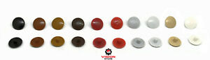 PLASTIC SCREW COVER CAPS Various Colours Press Push On - THEY ARE NOT UNIVERSAL