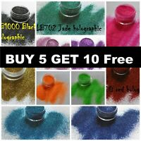 Glitter POTS Cosmetic Fine Dust Nail Eye Shadow Cosmetic L@@K..BUY 5 GET 10 FREE