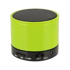 Bluetooth Wireless Mini Portátil Verde Altavoces Para Iphone Ipad Mp3 Recargable