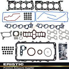 """FORD E-150 EXPEDITION F-150 2001-02 4.6L 281cid ENGINE FULL GASKET SET VIN """"W"""""""