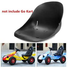 Plastic Racing Go Kart Seat Drift Trike Hover Cart Seat Parts Replacement Black