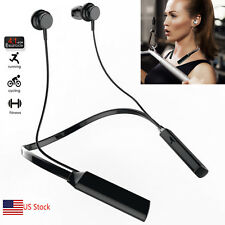 Handsfree Bluetooth Headset Headphone HD MIC for Samsung Galaxy S9 S8 S8 Plus S7