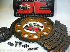 HONDA VTR1000F SUPERHAWK JT Z1R 520 SUPERSPROX CHAIN & SPROCKETS KIT Quick Accl