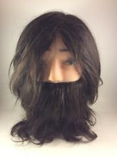 Hairart Abe Male Mannequin with Beard 16 Ounce Hair Art