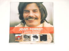 Jean Ferrat - 4CD Box - 4 Albums Originaux - 2010 - Barclay 532 644-2