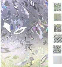 Bloss 3D Window Decals Window Films Glass Decals Static Decorative Films No Glue