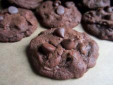 4 Dozen! Homemade Double Chocolate Chip Nutella Cookies + Gift Box, AllDayBaking