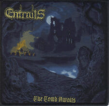 ENTRAILS-THE TOMB AWAITS- WOVEN PATCH-super rare