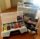 Lot of ZIP ZAPS Cars: Cases, Cars, Bodies, Remotes, Parts, & Speed/lap Counter