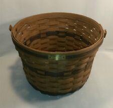☆ Longaberger Rare 1985 Apple Basket Jw Collectible ~ Missing Handle Free Shipp