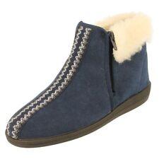 Pantofole da donna blu Rohde