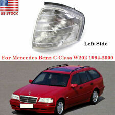 Left Turn Signal Lens HeadLight Side Marker For Mercedes Benz C Class W202 94-00