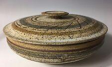 CHARLES COUNTS /  EXCEPTIONAL VINTAGE Covered Jar VASE
