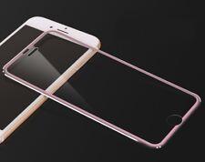 iPhone 7 ROSEGOLD rim full cover tempered glass screen protector 3d 9h titanium