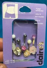 Claires Pink Body Piercing Jewelry Ebay