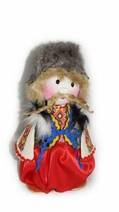 Handmade Hand Embroidered Toys Ukrainian Ethnographic COSTUMED DOLL Cossack