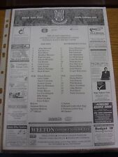 26/07/2005 Teamsheet: Lincoln City v Rotherham United [Friendly]. Thanks for vie