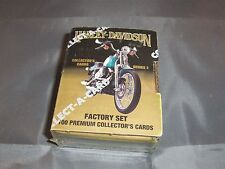 1992 Harley Davidson Series 2 Factory Set Collector's Cards Sealed New In Box