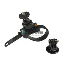 Bike Bicycle Roll Bar Zip-Tie Style Strap mount for Gopro Digital campact camera