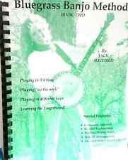 Bluegrass Banjo Method Book/CD 2 Jack Hatfield Graduated Approach Split-Channel