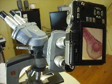 Pentax Q Series MICROSCOPE camera Adapter kit w 0.5x lens T2 7 10 12.4  MP