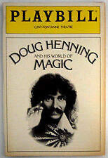 Original Doug Henning And His World Of Magic Playbill